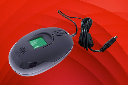 Mouse Sensor Huellas Digitales