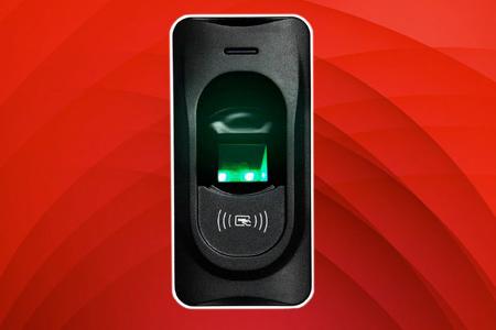 Control de accesos por Huella Fr1200