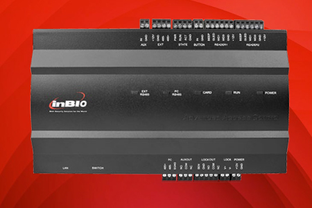 Control de Acceso Tarjeta Electrónica InBio 160